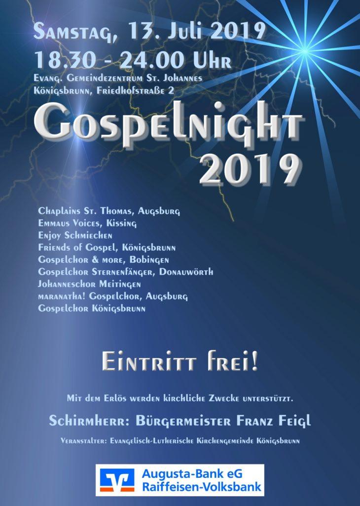 Gospelnight 2019
